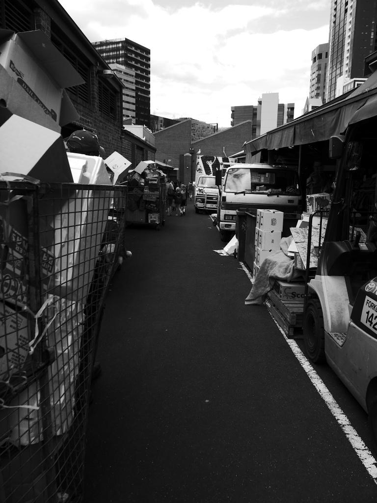 Cardboard Alley